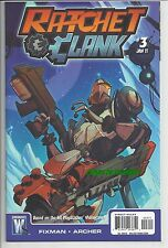 RACHET & CLANK #3 BASED ON HIT VIDEOGAME 2016 MOVIE WILDSTORM COMICS!