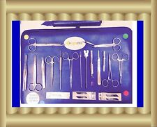 Minor Surgery Set 20 Pieces Surgical Instruments kit Stainless Steel