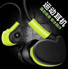 Waterproof In Ear Earbuds HIFI Sport Headset Headphone Earphone for iPhone LG