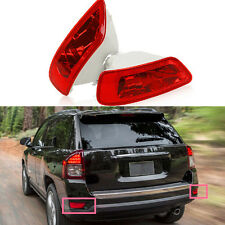 A Pair Reflector Housing Light  Rear Bumper  Fog Lamp For Jeep Grand Cherokee