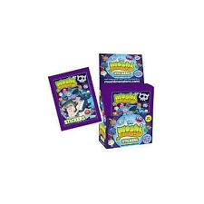Topps Moshi Monsters Series 2 Purple Stickers Collection - 5 Sticker Packets