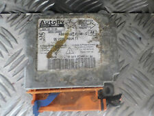 2002 PEUGEOT 206 1.1 PETROL SRS CRASH AIRBAG ECU COMPUTER UNIT 9650136980