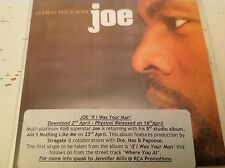 Joe If I was your man promo CD single Jive records