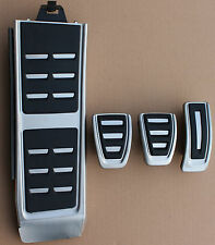 Audi A4 B8 original S-Line Pedalset Pedal Pedal Caps Foot rests A5 Q5 SQ5 RS5