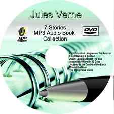 Jules Verne, Journey to the Centre of the Earth +6 other MP3 Audio Books DVD MP3