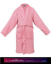 HEAVY 400GSM ESSEX DELUXE 100% EGYPTIAN COTTON TOWEL BATHROBE BATH ROBE PINK