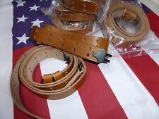 Bretelle GARAND M1 / SPRINGFIELD 1903 P17 WW2 USA JEEP MILITARIA TIR TAR noire