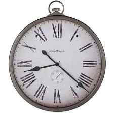 """Large Pocket Watch Wall Clock 30"""" Vintage Rustic Antique Style, Home Art Decor"""