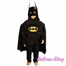 HALLOWEEN Party Batman Muscle Superhero Fancy Party Costume Kid Size 6-7 FC004B