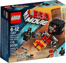LEGO THE LEGO MOVIE 70817 Batman & Super Angry Kitty Attack Sale !