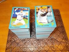 2013 Topps Update Wal-Mart Blue Parallel Cards U-Pick 5 Cards Complete Your Set