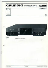 Grundig Service Anleitung Manual Receiver T 4   B406