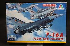 XY131 ITALERI 1/144 maquette avion 880 Fighting Falcon F-16A F16A Dragon