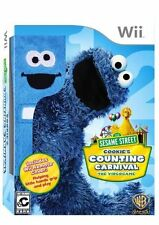 Cookie's Counting Carnival EXCLUSIVE SET (Nintendo Wii, 2010) NEW Remote Cover