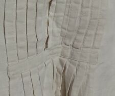 Antique French Dress Shirt Chemise Pure Linen Darcy Outlander Poldark shirt