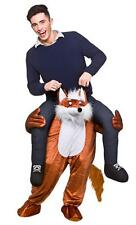 Carry Me Fantastic Fox Adults Fancy Dress Animal Mens Ladies Mascot Costume 8701