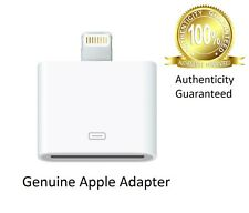 Genuine OEM Apple 30-Pin to 8-Pin Lightning Adapter iPad/iPod/iPhone 5/5s/5c/6