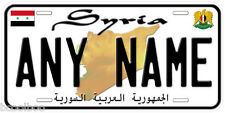 Syria Any Name Personalized Novelty Auto License Plate C01