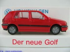 Wiking Volkswagen (16a) VW Golf III GL (1991-1997) in rot 1:87/H0 NEU/OVP