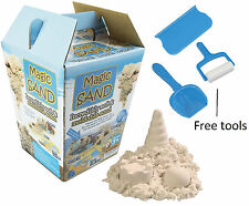 Magic Sand Play Sand Moldable Sand & Free Tools Like clay / playdough