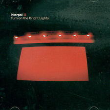 Turn on the Bright Lights Interpol MUSIC CD