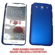 Pellicola+custodia BACK COVER RIGIDA BLU per LG Optimus G Pro E985 E980  (B2)