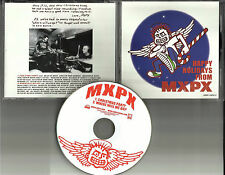 MXPX w/ CHRISTMAS PARTY UNRELEASED & Where Will We Go  PROMO DJ CD Single 2002