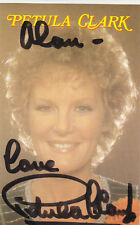Petula Clark signed colour postcard 5 1/2 x 3 1/2