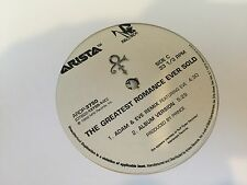 "PRINCE THE GREATEST ROMANCE EVER SOLD REMIXES 2X12"" 1999 ARISTA ARDP 3750 PROMO"