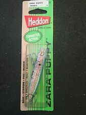 "Heddon Zara Spook  Puppy 3"" 1/4oz X9225GBLSD G-Finish Blue Shad"