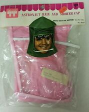 Vintage Shower Cap!  Astronaut Rain/ Shower Cap! Unique old hard to find Item!