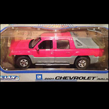 2001 Chevrolet Avalanche Pickup Truck RED 1:18 Welly JC Penney 9852