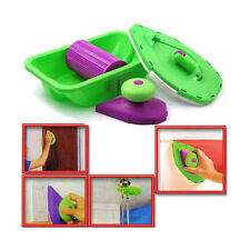 Multifunctional Paint Roller Home Wall Kids Oil Kits Decoration Finish Brush New