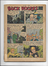 FAMOUS FUNNIES #?  [1942? PR]  BUCK ROGERS  COVER-LESS COPY!