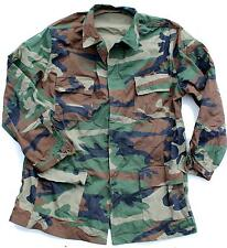 (9) TURKEY TURKISH ARMY LONG SLEEVED COMBAT SHIRT in WOODLAND CAMO
