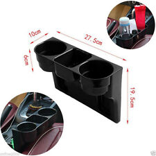 Universal Good 3 Cup Holder Drink Beverage Seat Seam wedge New Car Vehicle Mount
