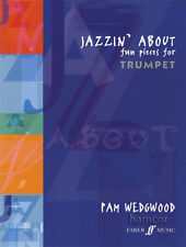 Jazzin' About Fun Pieces for Trumpet Sheet Music Book Pam Wedgwood
