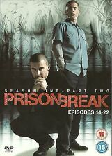 PRISON BREAK Series 1 Vol.2 (DVD) 2006, 3-Disc Set Season 1 TV DRAMA thriller