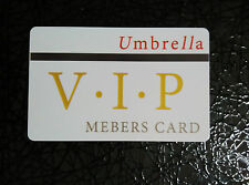 Resident Evil Umbrella Corporation Corp Club Hall Key Card Prop VIP Corp
