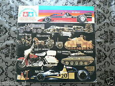 TAMIYA 1979 MODELS CATALOGUE,BIKES,CARS,TRUCKS,BRABHAM BT46 ALFA ROMEO,WOLF RACI