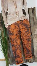 NEU ITALY BAGGY SWEAT JOGPANTS HOSE SWEAT PANTS �� FLORAL PRINT �� 40-44