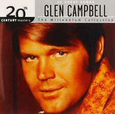 GLEN CAMPBELL CD - BEST OF: THE MILLENNIUM COLLECTION (2014) - NEW UNOPENED