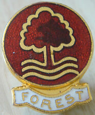 NOTTINGHAM FOREST Vintage badge Maker COFFER Northampton Brooch pin 22mm x 28mm
