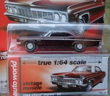 `66 Chevrolet Impala SS  Deep-Red  Chevy 1966 **RR**JL Auto World 1:64 RAR+OVP