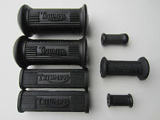 TRIUMPH FOOT REST PEG KICK SHIFTER RUBBER SET 1955-68 T100 TR6 T120 BONNEVILLE