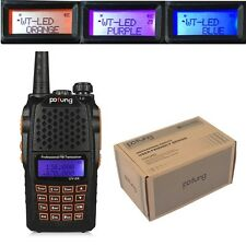 Baofeng UV-6R VHF/UHF 2m/70cm 136-174/400-520MHz Dual-Dand Ham Two-way Radio>5R