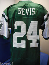 Reebok NFL Mens New York Jets Darrelle Revis Replica Jersey New L