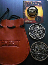 THE HOBBIT Desolation Of Smaug SDCC 2013 WB Exclusive Coin Pouch IAN MCKELLEN