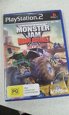 MONSTER JAM URBAN ASSAULT PS2