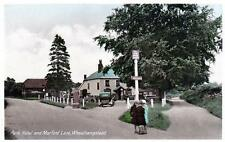 Park Hotel Wicked Lady Pub Wheathampstead Nr Harpenden unused old postcard